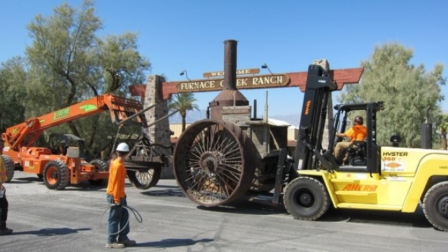 Death Valley Artifact Goes on the Road (Sort of)