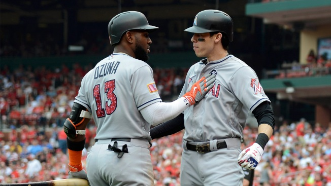 Analysis: Odds of A's Trading for Miami's Yelich Or Ozuna