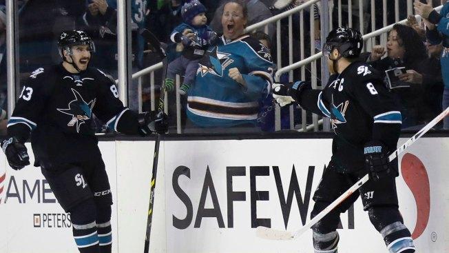 Getzlaf helps Ducks top Sharks 3-2