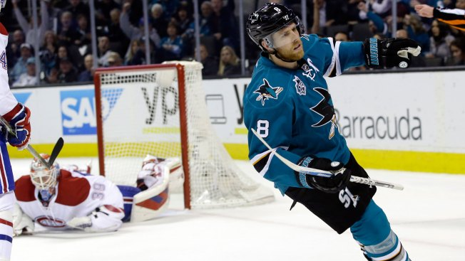 NHL Gameday: Sharks Host Top Team, Goals Figure to Be Hard to Come by