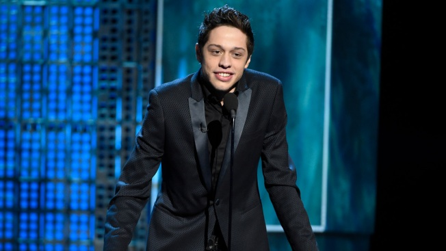 Candidate Chides 'SNL's' Pete Davidson Over Eyepatch Joke