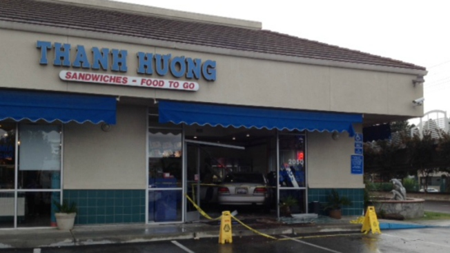 Car Drives Into Vietnamese Restaurant in San Jose