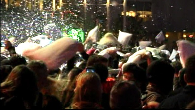 SF Pillow Fight Cleanup Will Cost $5,000