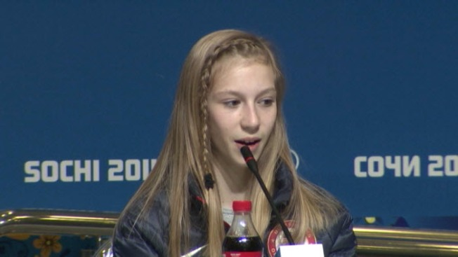 U.S. Figure Skater Polina Edmunds Lands in Sochi, Ready to Compete