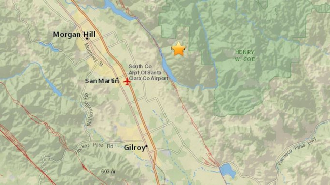 Magnitude-2.8 Earthquake Is Latest in String of Tremors in South Bay