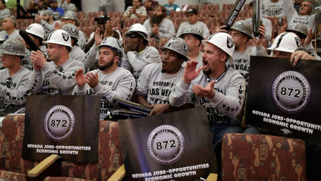 Hoax! Bogus Flyer Draws Hundreds to Raiders' Vegas Stadium Meeting