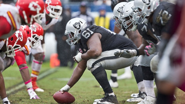 Raiders' Offensive Line May be Ready to Roll