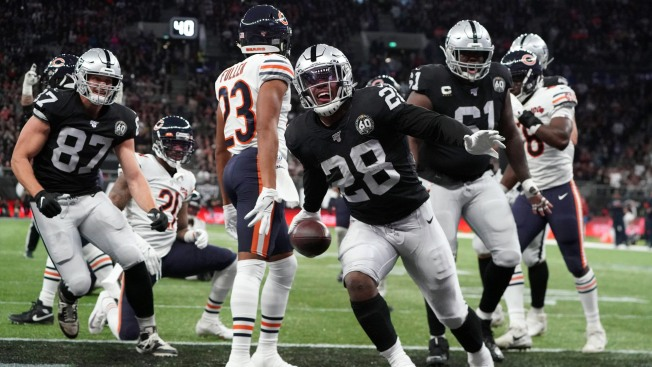 Raiders Hold on to Beat Bears in London