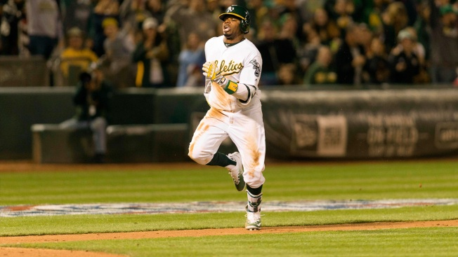 A's Lineup: Rajai Roams in Center Field in First Game of the Second Half