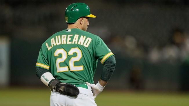 A's Center Fielder Ramón Laureano Selected as AL Player of the Week