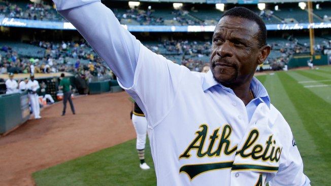 A's Name Oakland Coliseum Playing Surface 'Rickey Henderson Field'