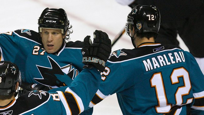 Roenick Wishes Marleau the Best: 'Good for Him!'