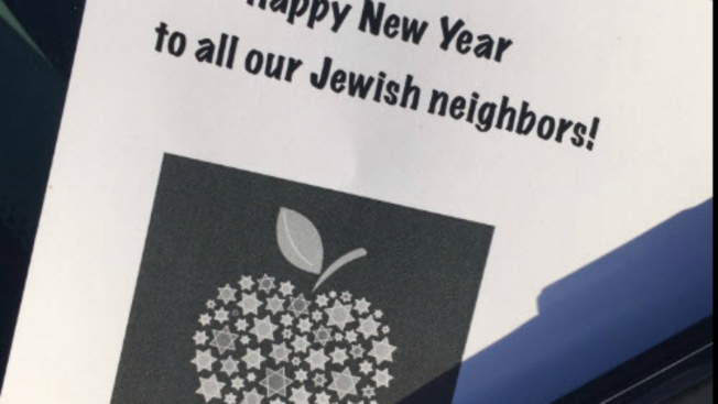 Mystery Leafletter Leaves Happy Jewish New Year Fliers on Cars in Lafayette BART Parking Lot