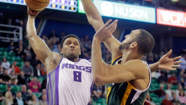 NBA Gameday: Weary Kings Hope to Have Rudy Gay Back Vs Jazz