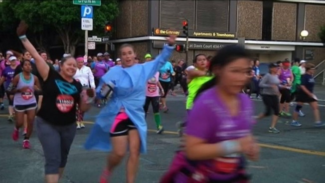 Thousands Hit San Francisco Streets for 10th Annual Nike Women's Marathon