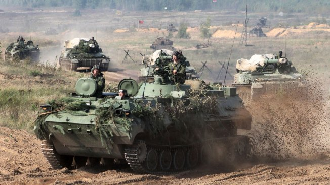 Huge Russian War Games Test NATO, Rattle Neighbors