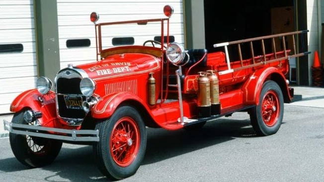 Historical Fire Trucks: Ride in Sacramento