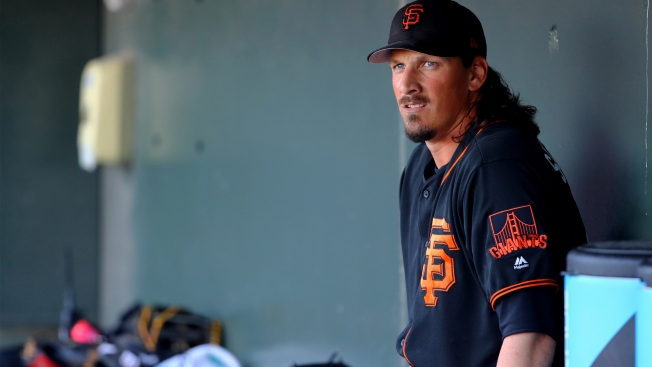 Samardzija Roughed Up by Rangers, Giants Cut 12 After Loss