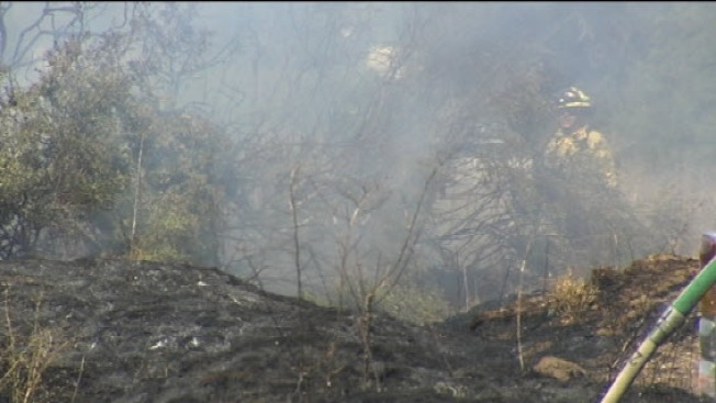 Brush Fire Breaks Out in South San Jose