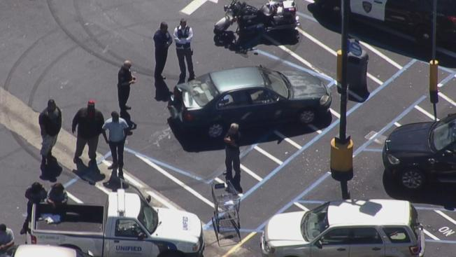 Medical Issue Prompts Multi-Car Collision Outside San Leandro Walmart