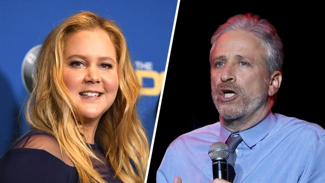 Amy Schumer and Jon Stewart to Headline Comedy Central's Clusterfest in San Francisco