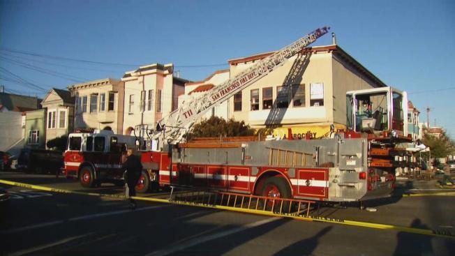 San Francisco Firefighters Battle Three Separate Blazes