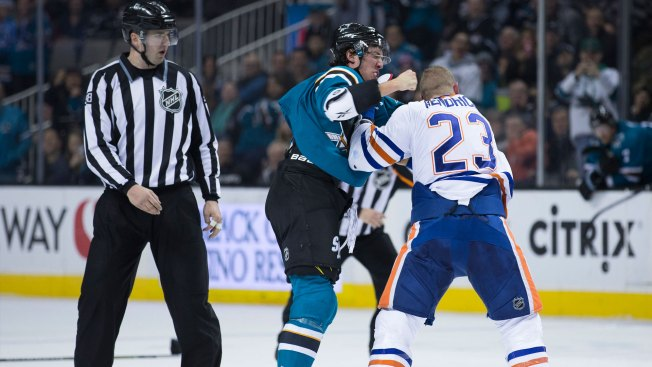 10 Observations: Sharks-Oilers a Budding Rivalry