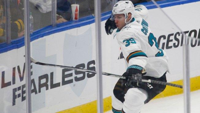 Buffalo Sabres: Late goal gives Sharks victory