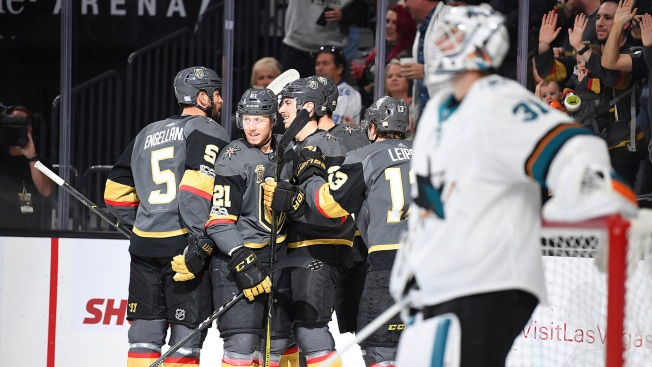 The Original Shark Who's Helping Expansion Golden Knights' Stunning Success