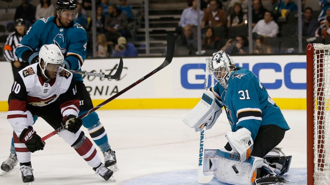 Sharks Shut Out by Coyotes to Close Preseason Home Slate