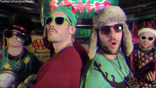 Check Out This Hilarious Sharks Christmas Music Video