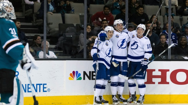 Sharks Overmatched in Loss to Lightning