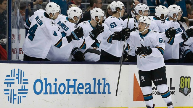 Sharks Snap Four-game Losing Streak, Earn First Win Since Thornton Injury