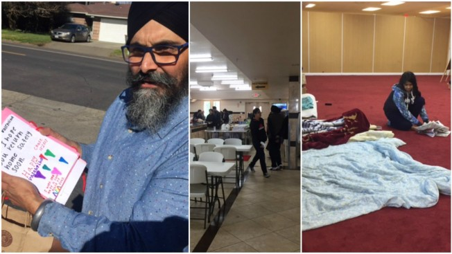 Sikhs Step Up, Welcome Oroville Dam Evacuees to Their Temples