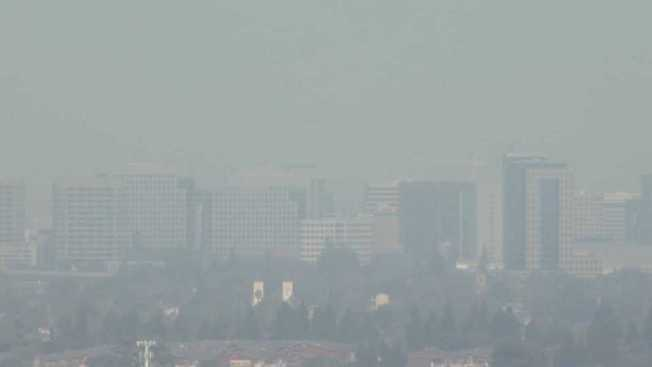 Wildfire Smoke Makes Bay Area Air Quality Unhealthy  NBC Bay Area