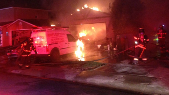 Five People, Seven Dogs Displaced After San Jose Fire