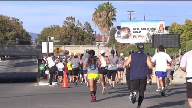 Over 16,000 Enter Rock 'n' Roll Marathon in San Jose