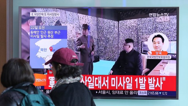 US says North Korean missile test ended in fiery crash