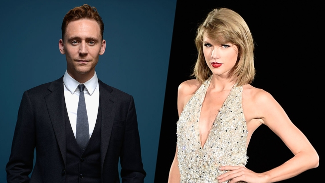 Taylor Swift Photographed Kissing Tom Hiddleston in Rhode Island
