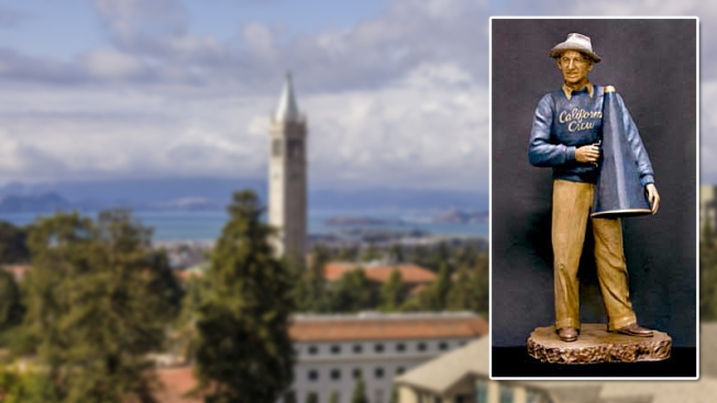 300-Pound Bronze Statue of Cal Crew Coach Carrol 'Ky' Ebright Found in San Leandro: Police