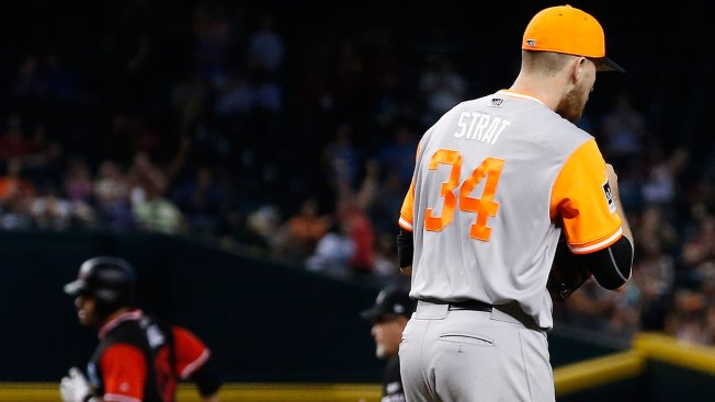 Stratton Strikes Out 10, But Giants Blanked by D'backs