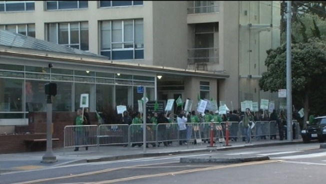 UC Medical Center Union Workers on Strike