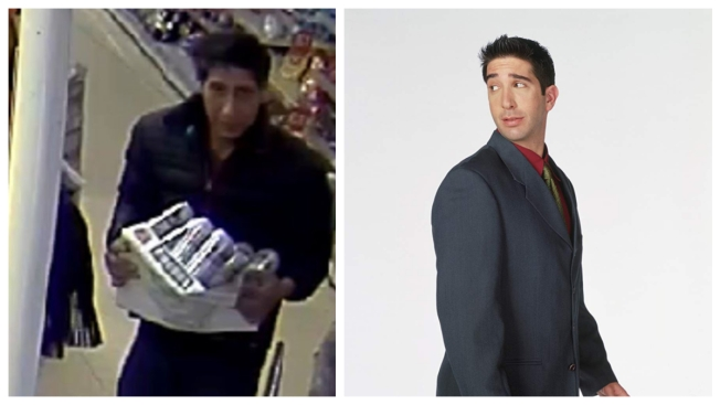 He'll Be There For You... With Stolen Booze: Ross Doppelgänger Sought in Beer Heist