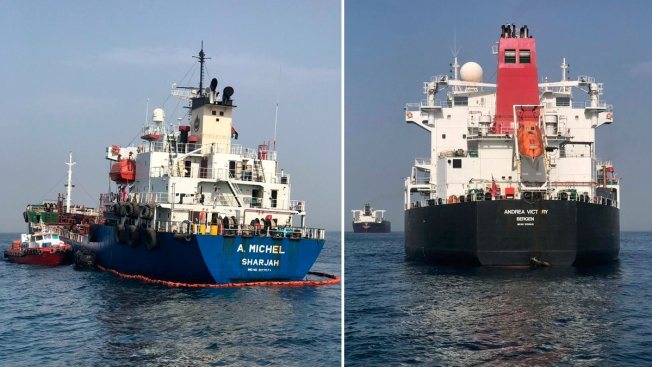 US Assessment Blames Iran for Ship Attacks; No Major Damage