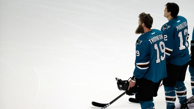 Thornton, Marleau Now Permitted to Speak With Other Teams