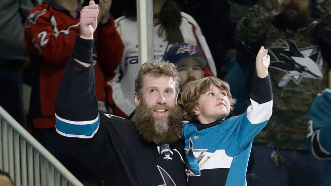 Sharks Where Thornton's'heart Is and Where I'm Happy