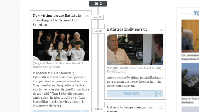 Timeline: How Ron Battistella Wound up in Jail