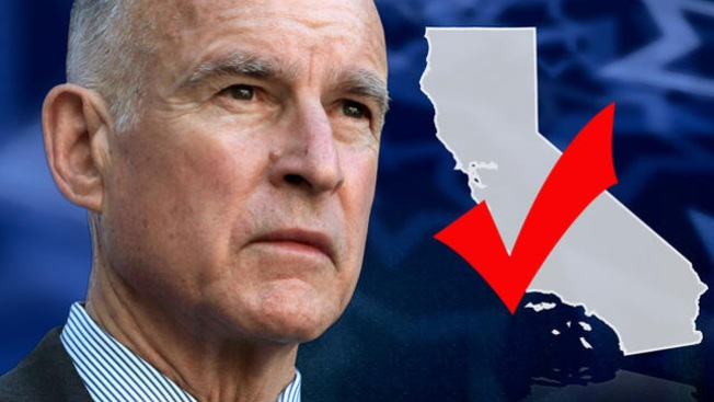 Image result for governor jerry brown