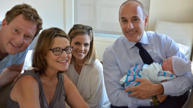 Savannah Guthrie Introduces Baby Vale to Matt Lauer and Natalie Morales