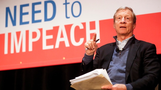 California Billionaire Tom Steyer Rules Out 2020 Run; Will Use Money to Help Trump Impeachment Efforts